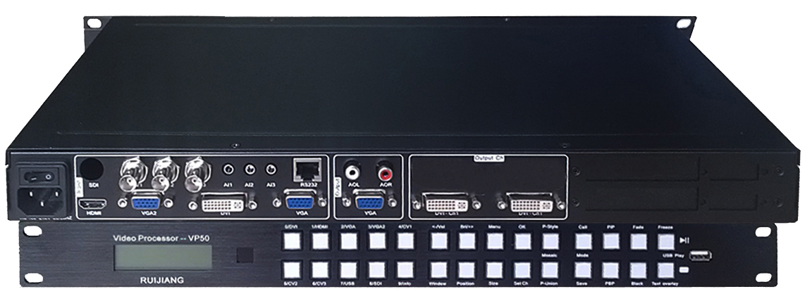 VP50-A   --  Video mosaic controller